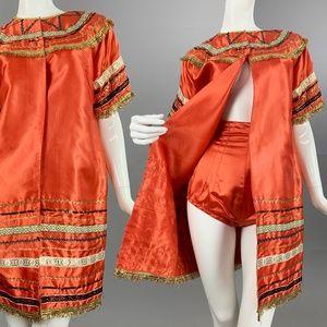 S Vintage 50s Burlesque Costume Set *$ firm*